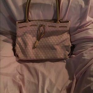 A pink Dooney&Bourke bag